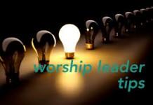 worship leader tip